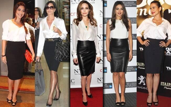 Os modelitos de Juliana Paes, Luiza Brunet, Angelina Jolie , Mila Kunis e Cleo Pires