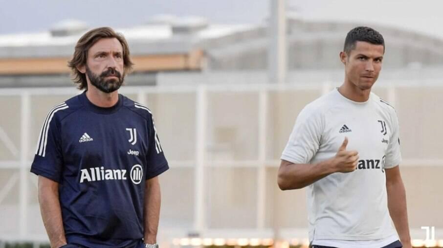 Pirlo acredita que Cristiano Ronaldo ficará na Juventus