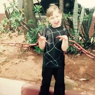Ana Marques na infância
