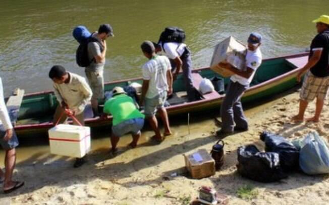 Tribo indígena recebe exército a flechadas em Mato Grosso e FUNAI precisa ser acionada para garantir acesso a urnas eletrônicas