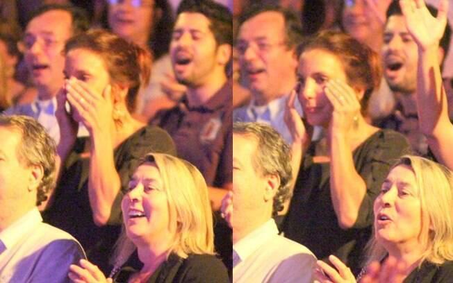 Ivete Sangalo chora ao assistir a performance de Tiago Abravanel como Tim Maia