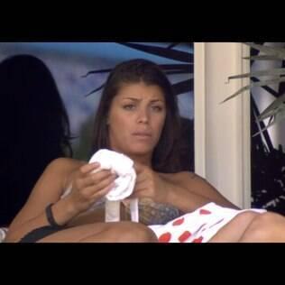 Depois de chorar após indicação, Franciele diz que se sentiu rejeitada