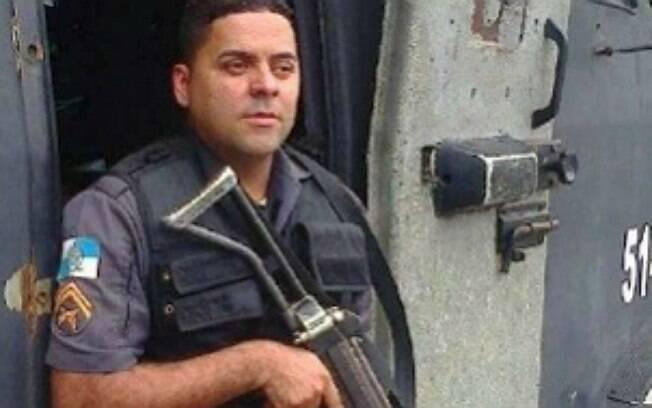 O PM Douglas Fontes foi vítima de uma tentativa de assalto em Gramacho, no município de Duque de Caxias