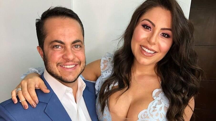 Esposa de Thammy Miranda o defendeu nas redes sociais