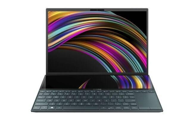 O ZenBook Duo tem duas telas