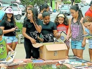 Livros em Todo Lugar.    Projeto idealizado na região do bairro Nacional distribui livros em locais públicos e agora também em comércios locais