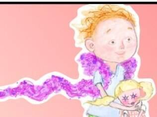 Ilustração do blog Raising my Rainbow: confissões de uma mãe sobre a criação do filho definido como