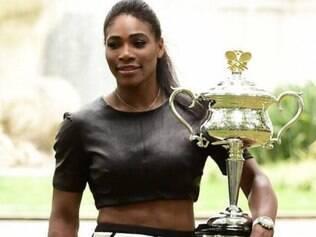 Serena faturou no último fim de semana o Aberto Austrália, o 19º Grand Slam da sua carreira