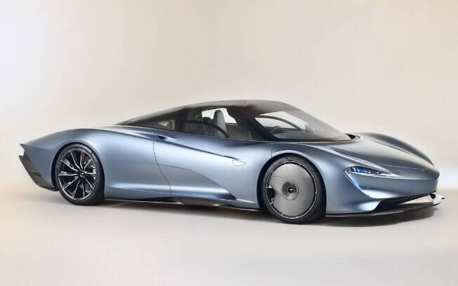 McLaren Speedtail: superando o icônico McLaren F1, o modelo é o novo recordista de velocidade dentro da marca