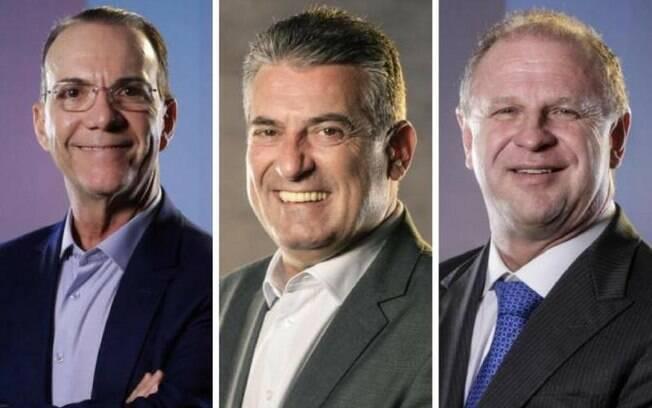 Em Santa Catarina, três candidatos a governador estão tecnicamente empatados e disputam duas vagas no segundo turno