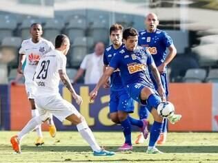 Mais ligado, time construiu bela jogada no gol do meia Ricardo Goulart