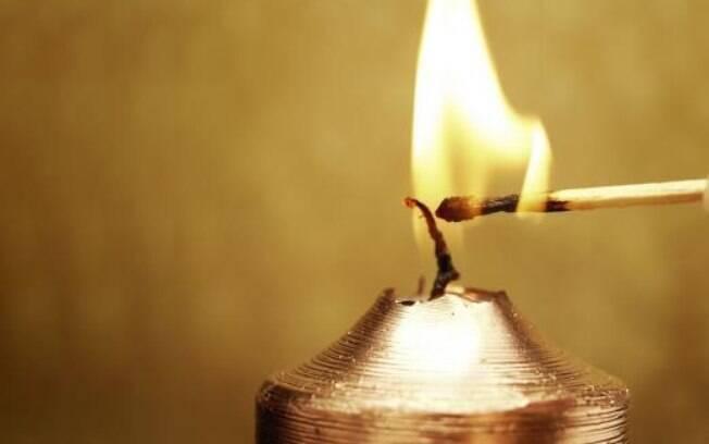 Britânicos tiveram que recorrer às velas após blecaute