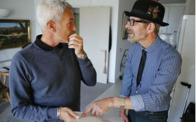 Paul Webley e Graham se conheceram no começo de 2015