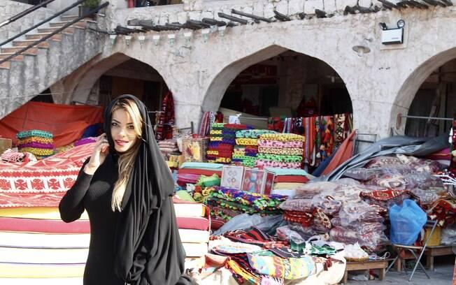 Além dos hotéis no Catar, elaboramos uma lista com os pontos turísticos do país, com a ajuda da atriz Jeniffer Setti