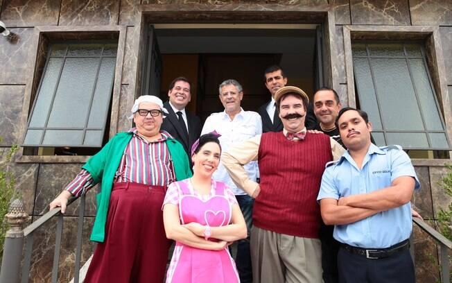 Marcio Ribeiro, Leandro Hassum, Marcos Paulo, Marcius Melhem, Juliana Guimarães, Marcello Caridade, Alezandre Régis e Marcio Lima