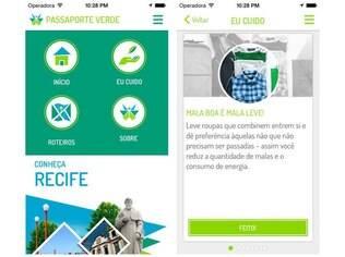 Disponível em Android e iOS gratuitamente, app Passaporte Verde dá dicas de roteiros sustentáveis em 12 cidades do Brasil