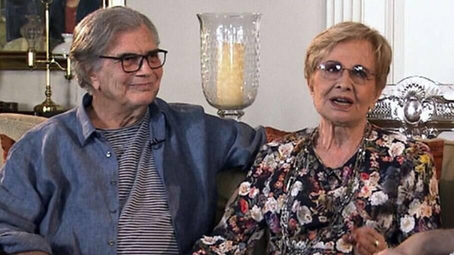 Tarcísio Meira e Glória Pires ficaram juntos por 60 anos