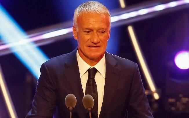 Didier Deschamps foi eleito o melhor técnico do ano