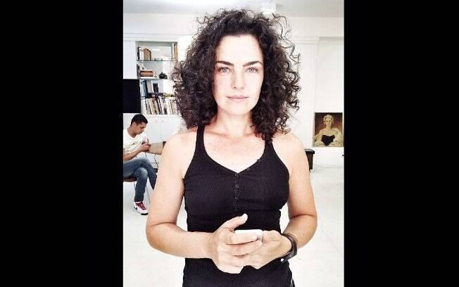Ana Paula Arósio reapareceu na tarde desta segunda-feira (31)