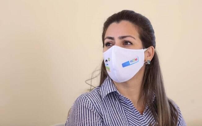 Cinthia Ribeiro, prefeita de Palmas (TO)