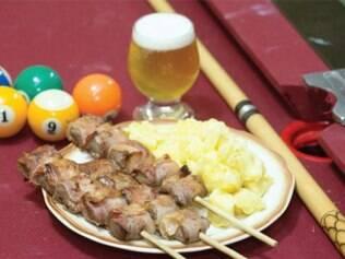 Espetin do Tortin criou um prato especialmente para o festival
