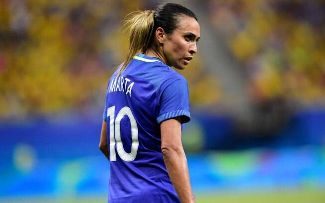 Marta é a esperança do Brasil na Copa do Mundo feminina