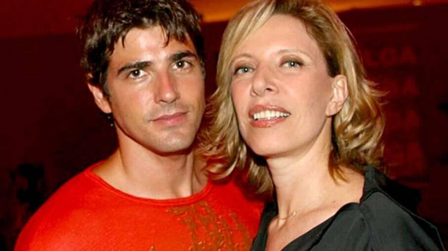 Reynaldo Gianecchini e Marília Gabriela