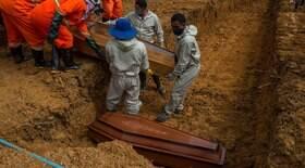 Com 2.165 mortes, Brasil tem ligeira queda em média móvel
