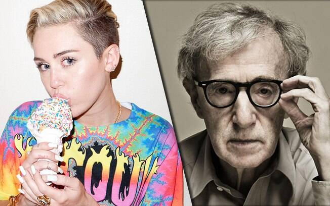 Miley Cyrus estará na nova série de Woody Allen na Amazon