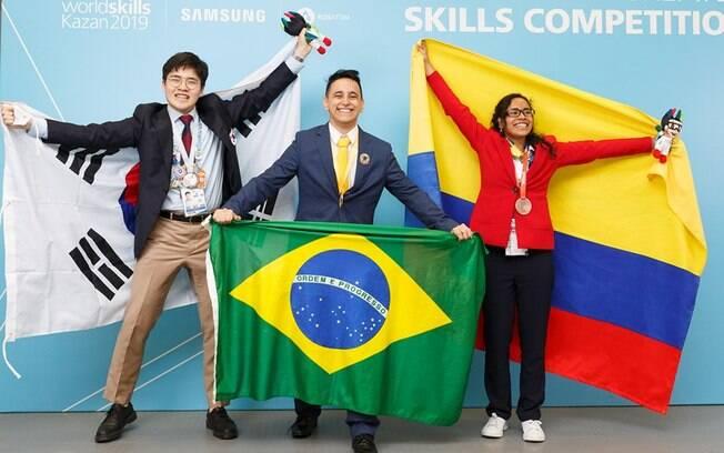 Brasil teve uma série de medalhistas na competição de educação