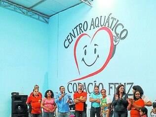 Centro Aquático.  Projeto foi inaugurado no último domingo, dia 8