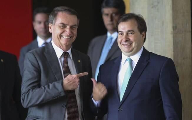 Presidente da Câmara disse que Bolsonaro