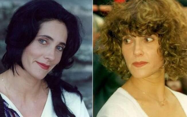 Christiane Torloni era Fernanda e Vivi em