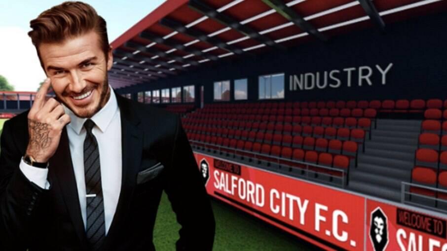 Beckham é um dos donos do Salford City