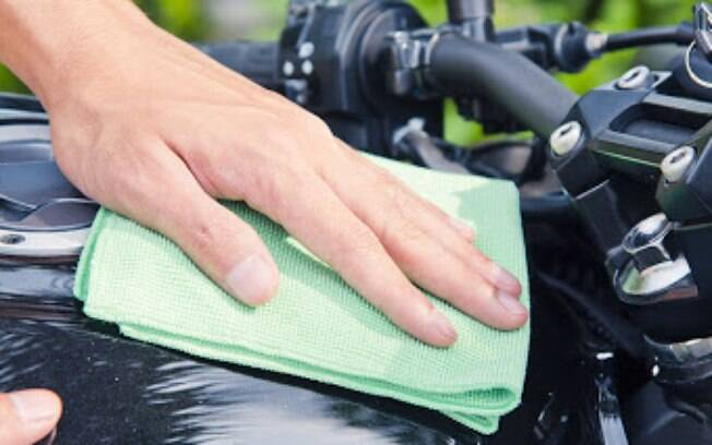 Limpeza moto