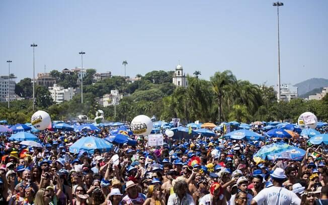 A cidade aguarda seis milhões de pessoas durante o carnaval