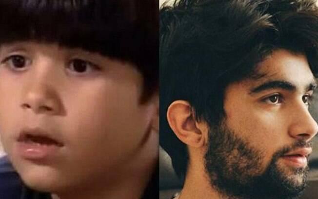 Victor Cogula iniciou na TV aos 7 anos, como ator mirim. Na novela, ele era parceiro de cena de Bruna Marquezine