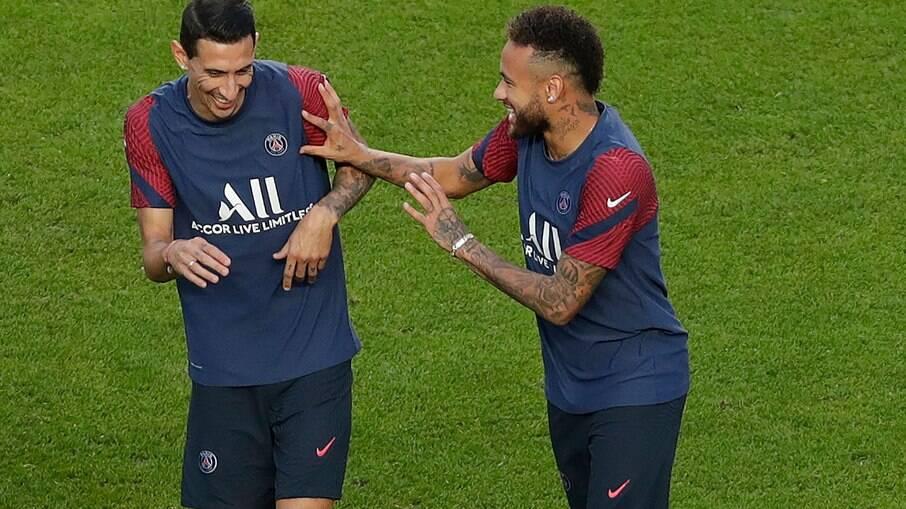 Di Maria e Neymar