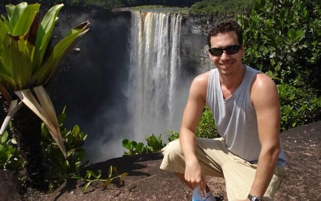 Para Igor, a Cachoeira Kaieteur é uma das mais belas do mundo