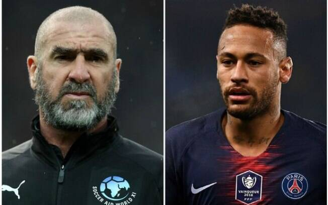 Cantona e Neymar