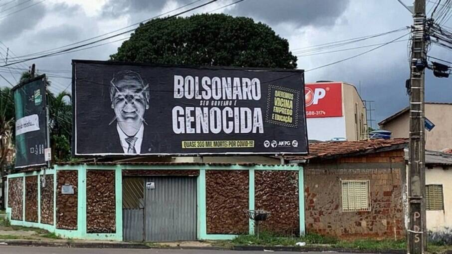 Outdoor foi instalado em Goiânia pela UNE