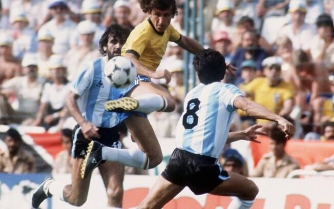 Zico contra a Argentina