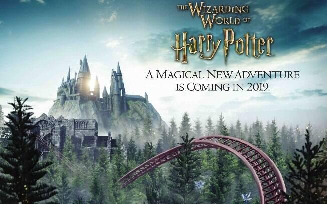 Outra das coisas para fazer em Orlando este ano será dar uma passadinha pela nova montanha russa do Harry Potter