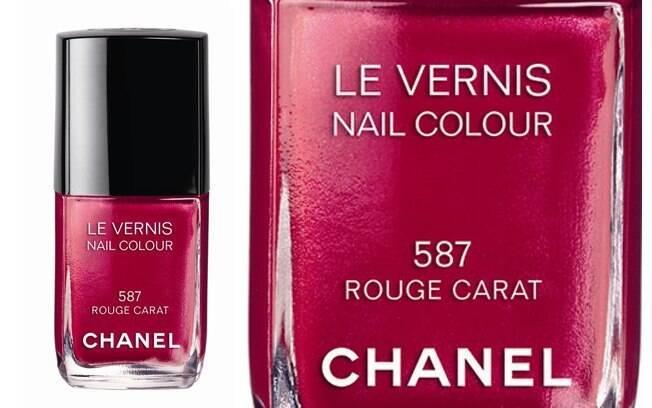 """""""Rouge Carat"""" é o lançamento da Chanel para as unhas"""
