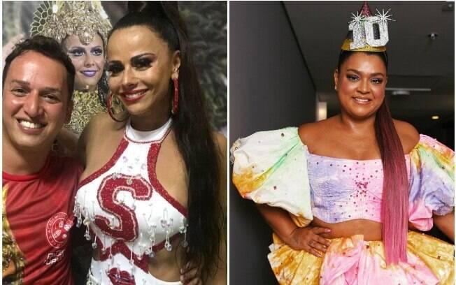 Viviane Araújo e Preta Gil investem no visual