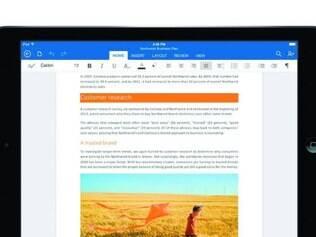 Produtividade. Word, Excel e PowerPoint finalmente chegam ao tablet da rival