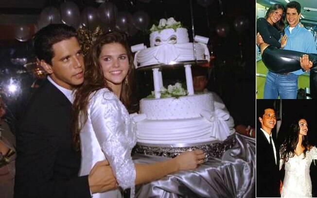 Márcio Garcia namorou dois anos com Daniella Sarahyba,14 anos a menos que ele. O namoro não suportou a distância, já que ela foi tentar a vida de modelo em Paris