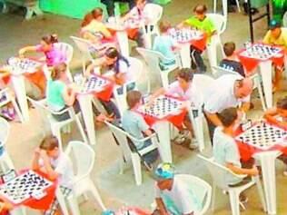 Xadrez.  Torneio reúne amantes do esporte em prol da solidariedade