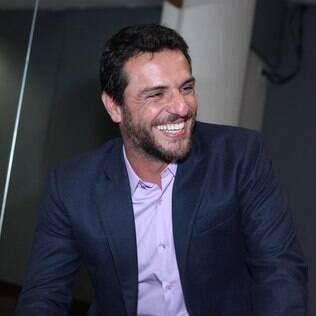 Rodrigo Lombardi no prêmio Sorriso do Bem