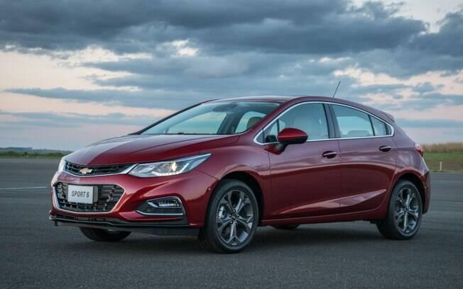 Chevrolet Cruze Sport 6: vários dispositivos de segurança de série contaram a favor do hatch médio da marca americana